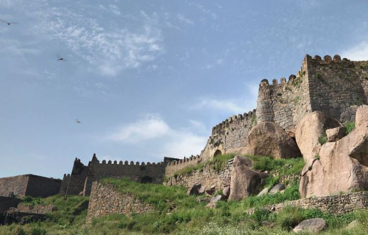 Hydarabad Golconda Fort